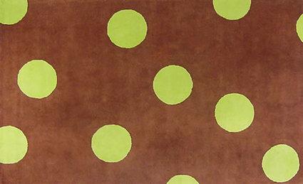 Chocolate_and_green_dot_rug